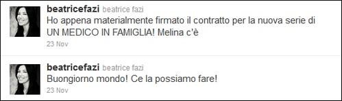 Un medico in famiglia 8: Beatrice Fazi ci sarà