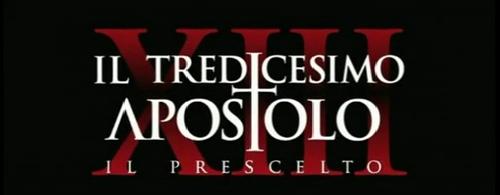 Il tredicesimo apostolo: il video promo di Qui Mediaset