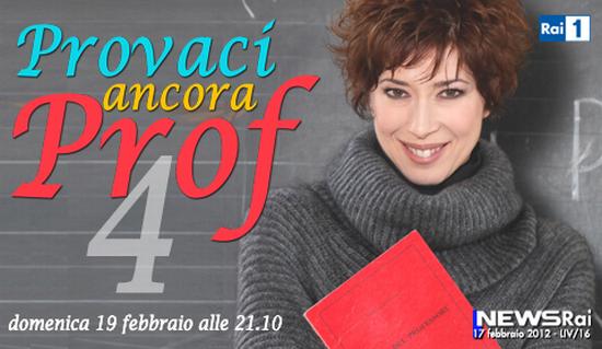 """Fiction: """"Provaci ancora prof! 4"""": dal 19 Febbraio su RaiUno le nuove avventure con Veronica Pivetti"""