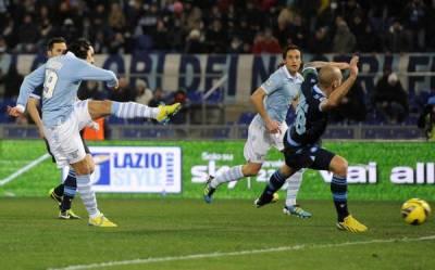 Ascolti tv Sky di sabato 9 febbraio 2013: boom per Lazio Napoli