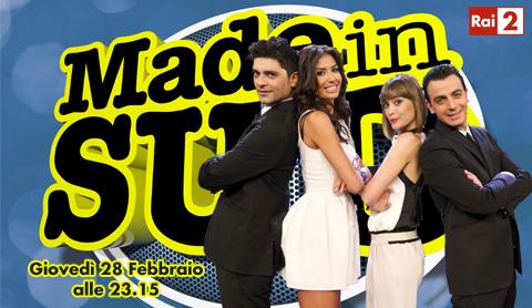 """Made in Sud"", da stasera su Rai2"
