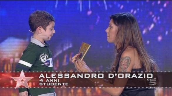 Alessandro D'Orazioni- Italia's got talent