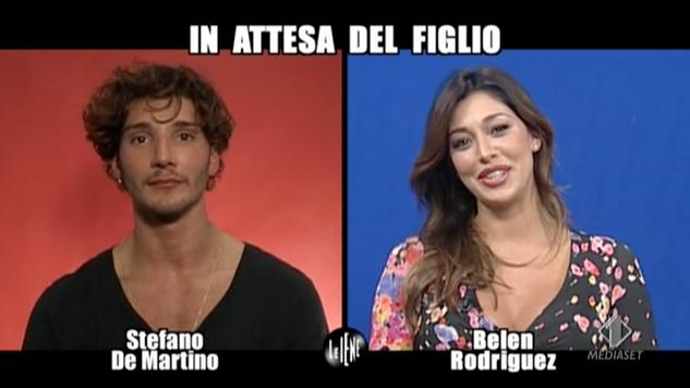 Stefano De Martino- Belen Rodriguez Le Iene