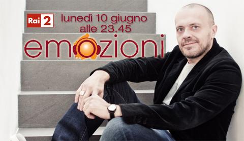 Emozioni su Rai due dedicato alla carriera di Max Pezzali