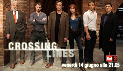 """""""Crossing lines"""", in anteprima mondiale la nuova serie crime con Gabriella Pession su Raidue"""