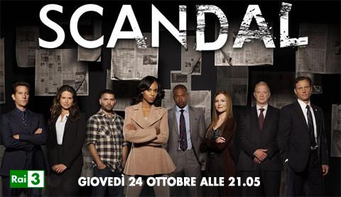 Scandal, la prima stagione parte su Rai tre in coppia con The Newsroom