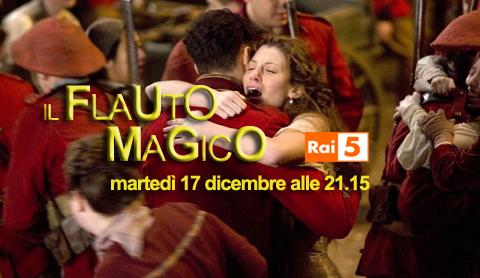 """""""Il flauto magico"""", la trasposizione cinematografica dell'opera di Mozart su Rai 5"""