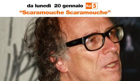 Scaramouche Scaramouche, il nuovo programma di Enrico Ghezzi per Rai 5