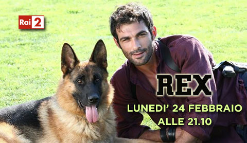 Rex, la sesta stagione con Francesco Arca dal 24 febbraio su Rai due: anticipazioni