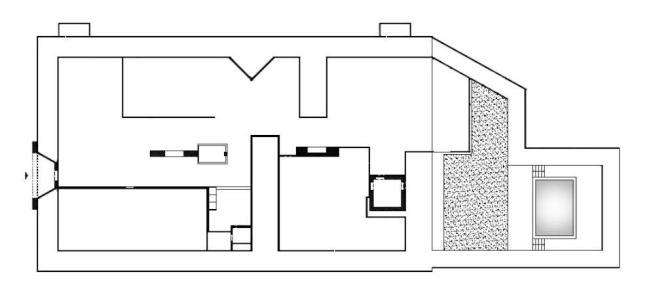 Grande fratello 13, ecco la piantina della casa: le stanze misteriose e l'angolo con i libri