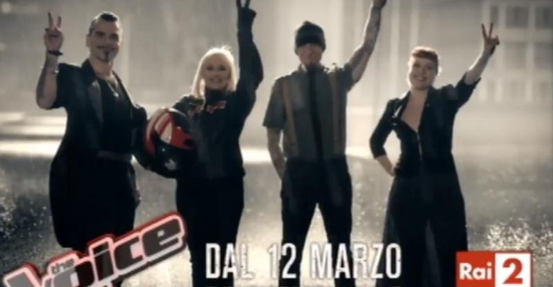 The Voice of Italy 2, ecco lo spot in stile Sin City con una spettacolare Carrà