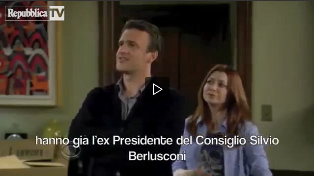 How i met your mother, censurata da Mediaset la puntata in cui si ironizza su Berlusconi [Video originale]