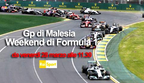 Formula Uno, Gran Premio della Malesia: le dirette di Rai Sport