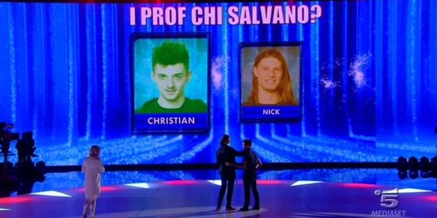 Amici 13, daytime del 12 maggio 2014: Nick Casciaro eliminato
