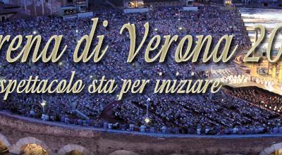 Arena di Verona 2014 – Lo spettacolo sta per iniziare: Antonella Clerici conduce la grande serata della lirica