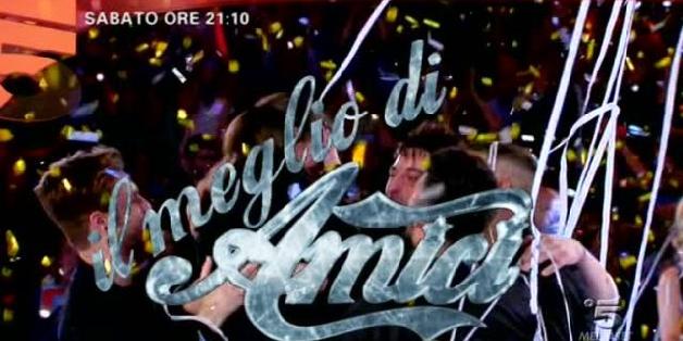 Il meglio di Amici 13, sabato 7 giugno in prima serata Canale 5