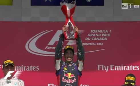 Ascolti tv di domenica 8 giugno 2014: vince il Gp di F1 di Canada, regge bene Il segreto