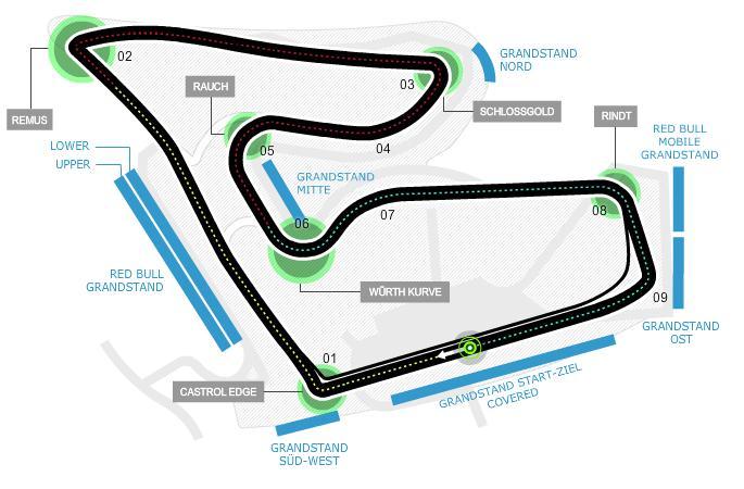 F1 Gp d'Austria, sulle reti Rai