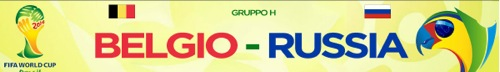 Mondiali 2014, è il turno di Belgio-Russia dirette su Rai e Sky