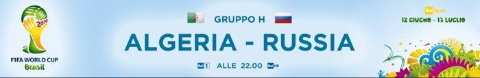 Mondiali 2014, Algeria-Russia: dirette su Rai e Sky Mondiale