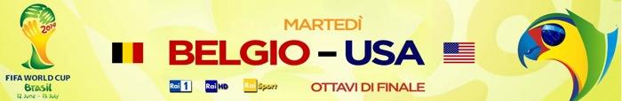 Mondiali 2014, Belgio-USA per gli ultimi ottavi di finale