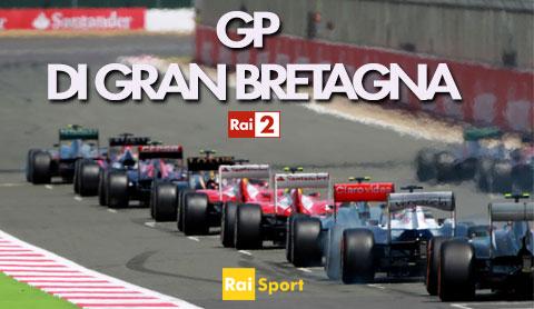 Gp di Formula 1 di Gran Bretagna su Rai due e Rai Sport