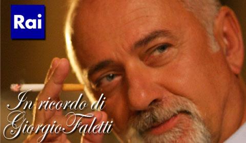 La Rai ricorda Giorgio Faletti