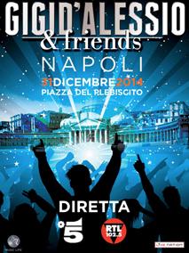 """""""Gigi D'Alessio & friends"""" animerà il Capodanno di Canale 5"""