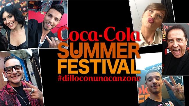 Coca Cola Summer festival, al via il primo appuntamento del 7 luglio 2014