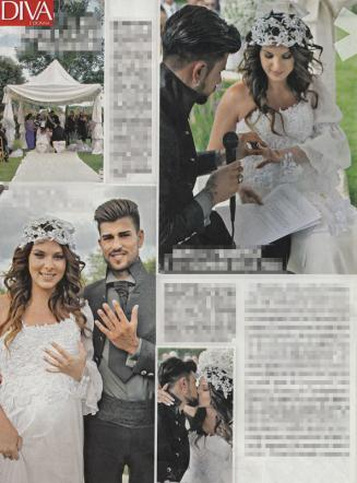I Cesaroni, Micol Oliveri si sposa con Christian Massella [Foto]