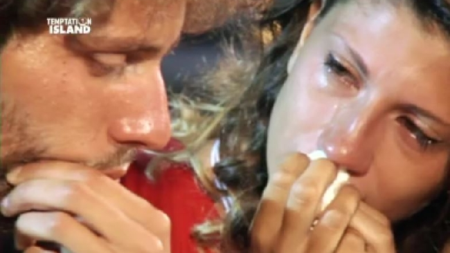 Temptation island, l'ultima puntata con Giorgia e Manfredi che si lasciano