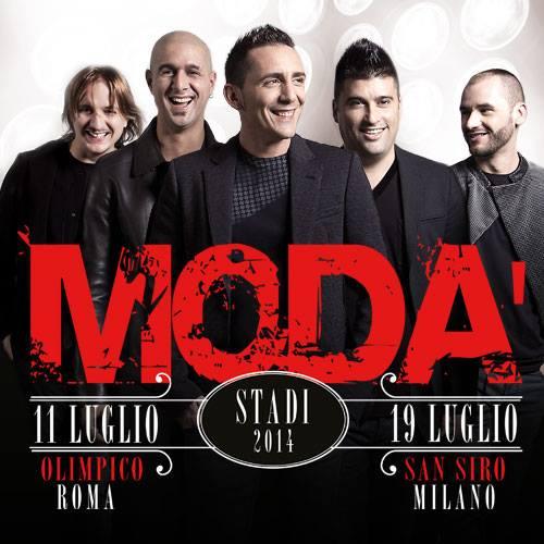 Modà, il concerto di San Siro in onda il 6 settembre su Canale 5