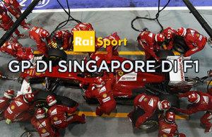 Gp di Singapore di F1 nel weekend di Rai Sport