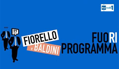 Fuori programma, torna il programma di Radio 1 con Fiorello e Baldini