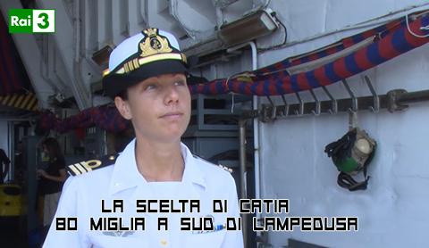 """""""La scelta di Catia"""", una docu fiction su una donna comandante"""