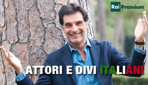 """""""Attori e divi italiani"""", la nuova edizione condotta da Tiberio Timperi su Rai Premium"""