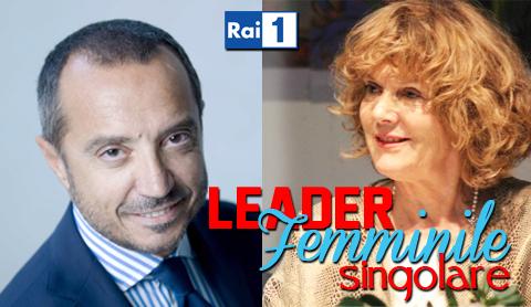 """""""Leader femminile Singolare"""", sei puntate monografiche al femminile con Franco Di Mare"""