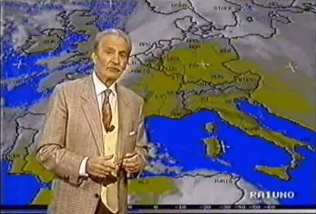 E' morto Andrea Baroni, storico volto del meteo televisivo italiano