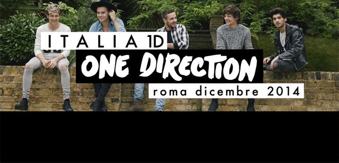 one direction, italia uno