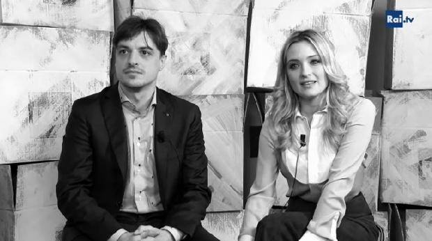 Max e Helene: Alessandro Averone e Carolina Crescentini presentano il film tv di RaiUno