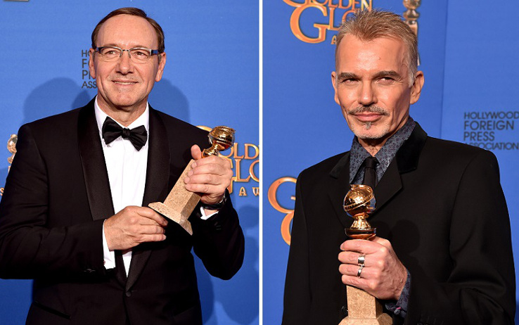 Golden Globe 2015: stravince Fargo, premiati Kevin Spacey e Billy Bob Thornton