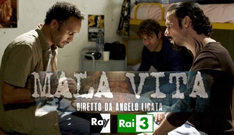 """""""Mala vita"""", il cortometraggio con Luca Argentero on line su Ray web e il 26 marzo su Rai tre"""