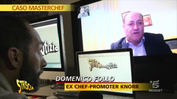 Striscia la notizia contro Masterchef Italia e Stefano Callegaro: nuove prove contro di lui