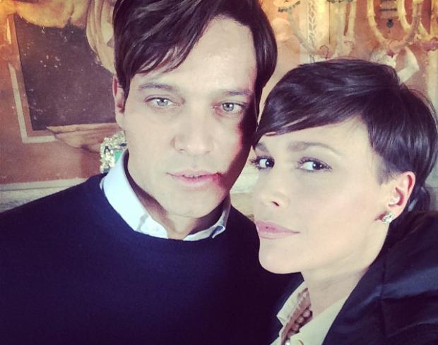 Non è stato mio figlio, Gabriel Garko e Stefania Sandrelli sul set della nuova fiction di Canale 5