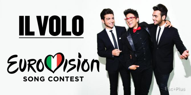 Il Volo - Grande Amore (Eurovisión 2015) [HQ-MEGA]