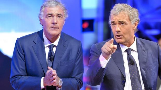"""""""I duellanti"""", Massimo Giletti farà scontrare due pretendenti vip in seconda serata Rai Uno"""