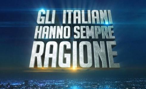 Ascolti tv del 17 luglio 2015: serata vinta da Gli italiani hanno sempre ragione