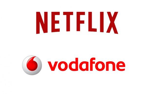 Vodafone e Netflix insieme per il lancio della grande tv on demand