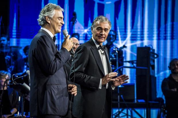 """""""Andrea Bocelli - Il mio cinema"""", serata evento su Rai Uno condotta da Massimo Giletti"""