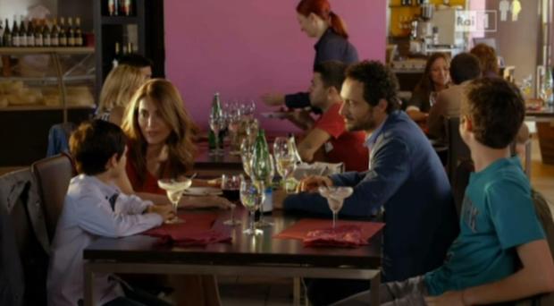 Claudia, Orlando, Pigi e Umberto